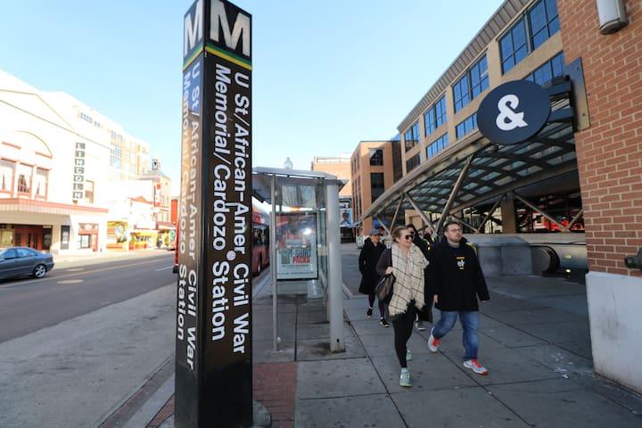 Vibrant U Street 3 BR Home - Next To Metro