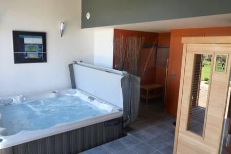 espace sauna, spa