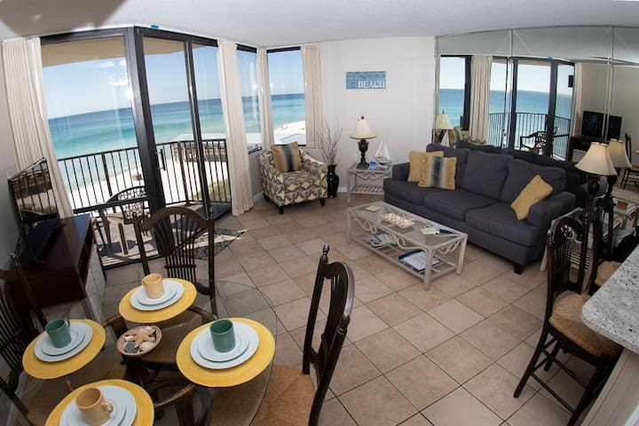 6th Floor Renovated Beach Front Condo