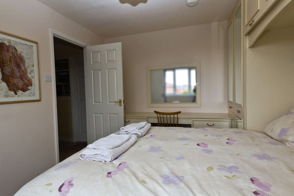 Double bedroom,  private en-suite