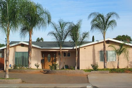 Your Room/House away from home - El Cajon - Hus