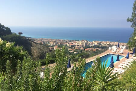 Pool,View,Garden,4km from Tropea - Tropea