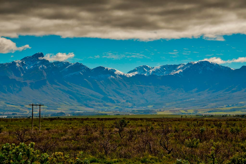Breath taking views of the Tulbagh Valley