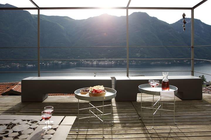 Casa di charme con vista lago - Nesso - Dům