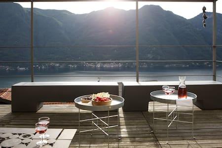 Casa di charme con vista lago - Nesso - 独立屋