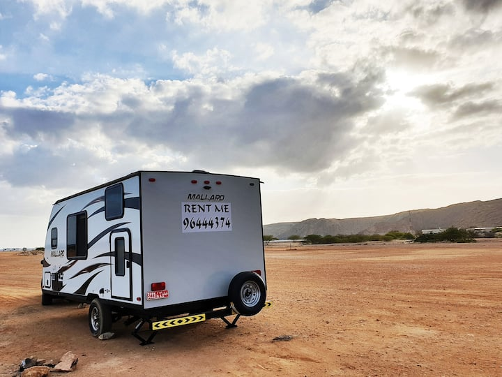 Bright Caravan Trailer