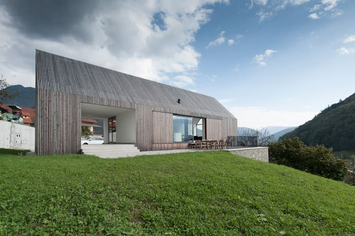 hiseLebanhouses: Ruta house in Soca Valley - Zatolmin