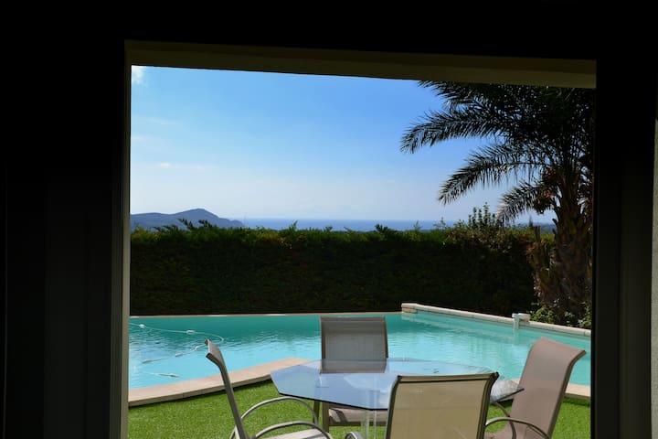 loft vue sur la méditerranée - La Cadière-d'Azur - Loft
