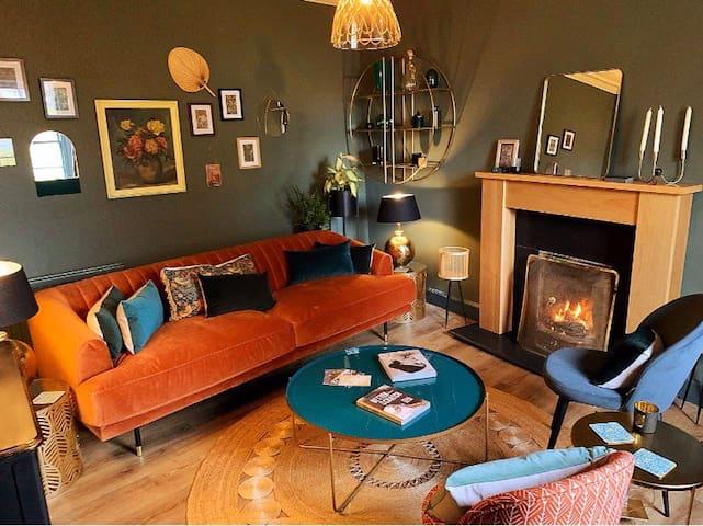 Colourful, charismatic & a unique cottage