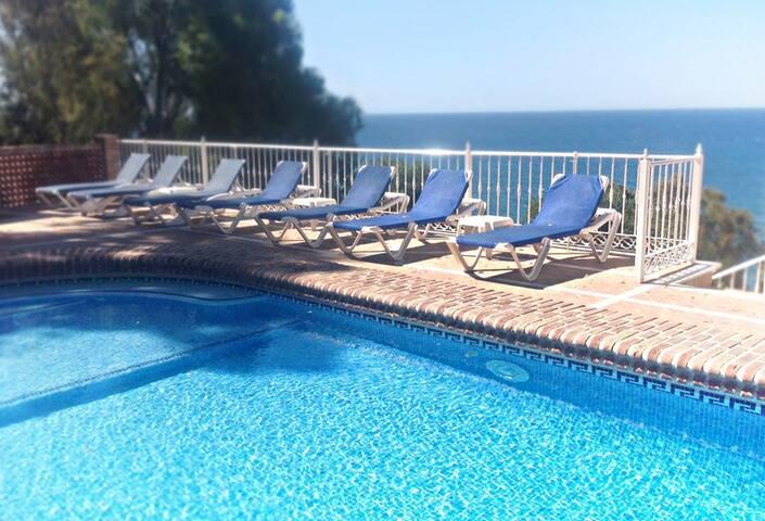 AGARROBOCosta del Sol sleep4 Malaga - Lagos - 別荘