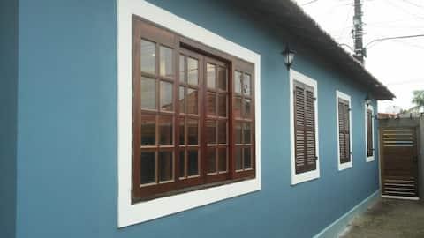 Casa estilo colonial no centro histórico de Iguape