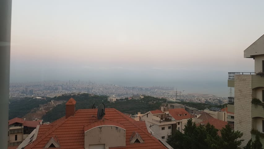 Overlooking Beirut. Only for females/couple