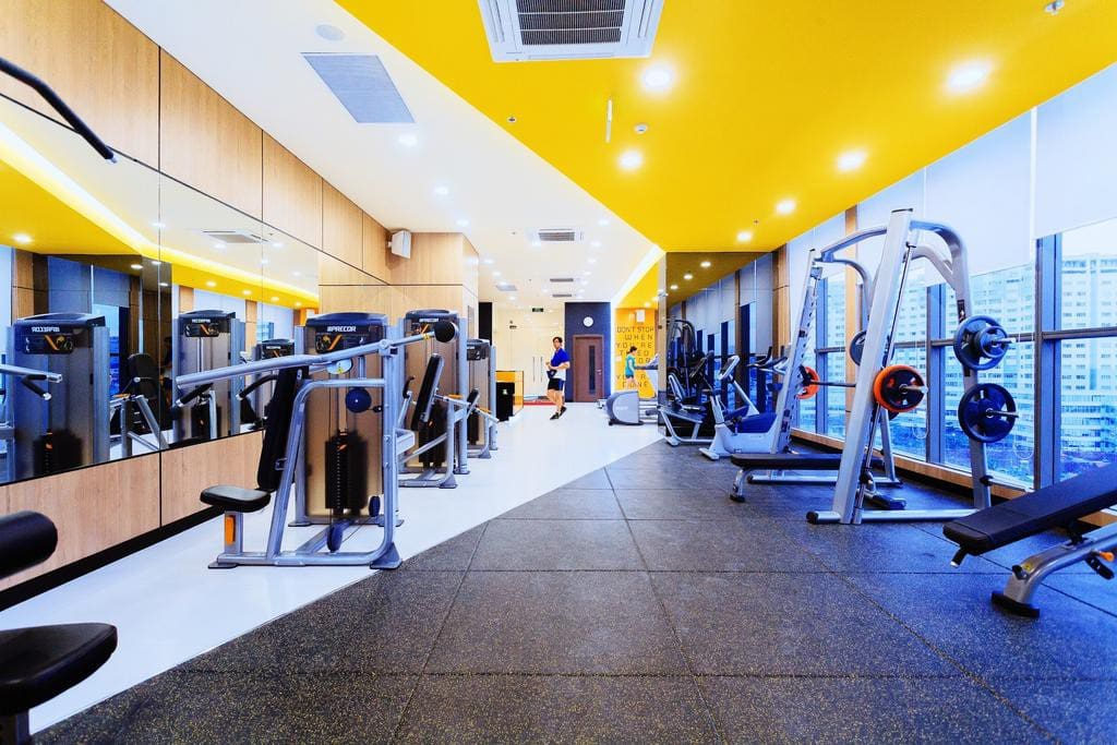Gym fitness center included inside the residence.