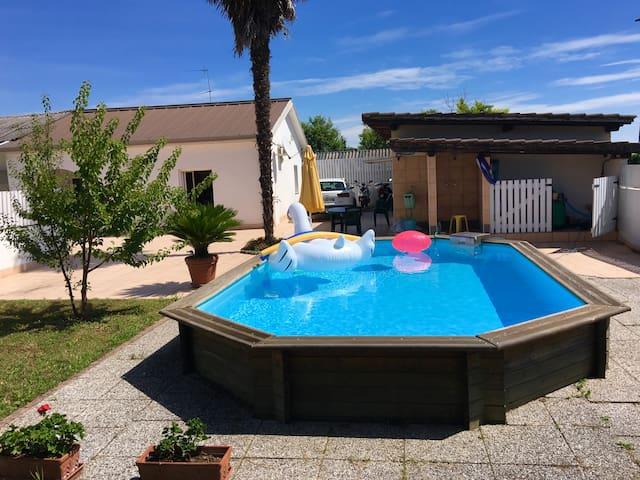 Maison à PERTEGADA (Italie du Nord) avec piscine - Pertegada