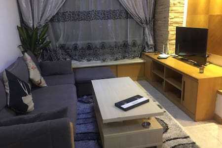 2 bed rooms apartment  Nice compound