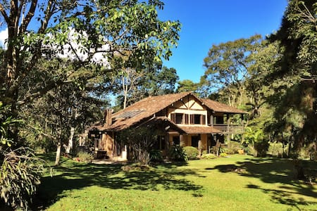 Beautiful Lodge in the Rainforest!