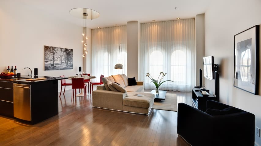 Luxurious Apartment in Old Montreal - Montreal - Pis