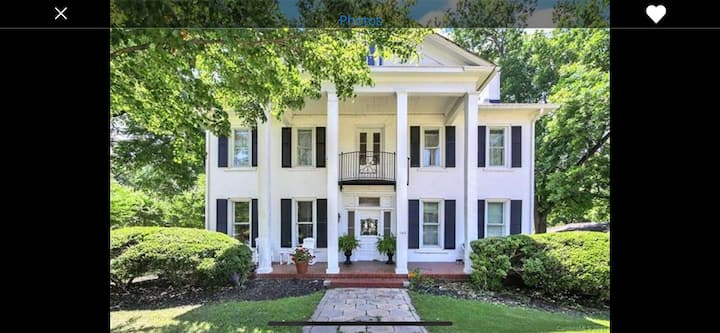 Dogwood Suite in 1855 Historic Gaston-Gage Home