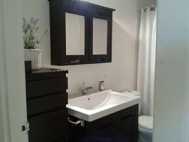 large modern bathroom