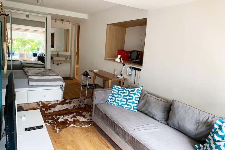 habitación privada tipo loft