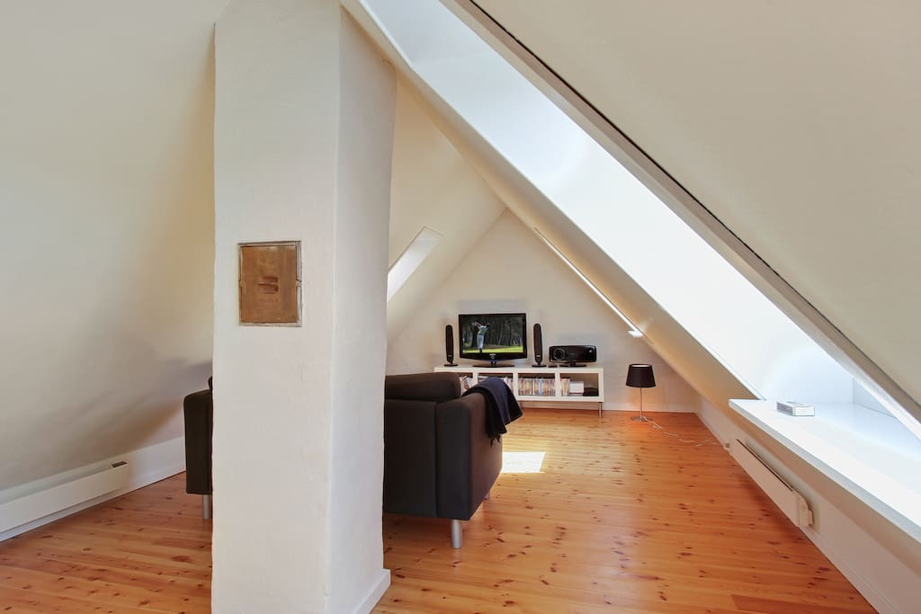 The top floor - nice and bright room (from real estate agent when we bought the place in 2013)