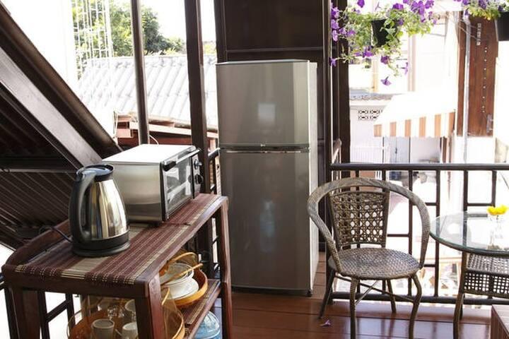 女性も安心日本人女性オーナーの宿#6エコプラン1名1室 Eco Plan for 1person - Chiang Mai - House