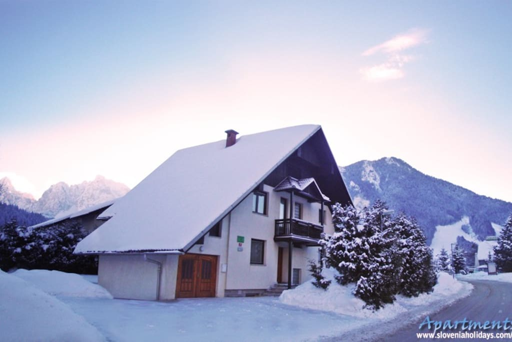 House in the winter