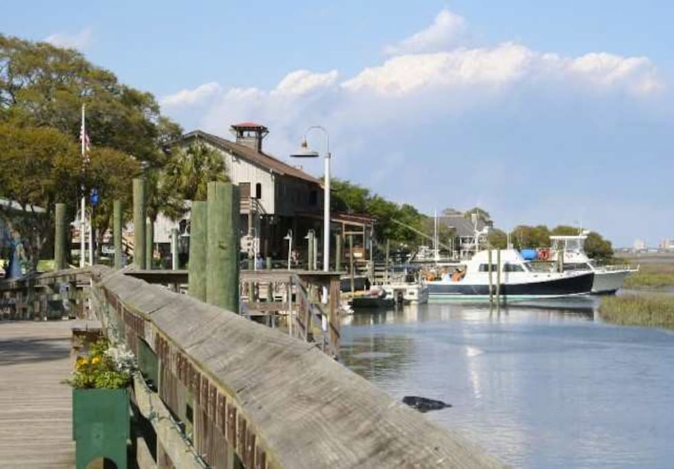 Murrells Inlet boardwalk