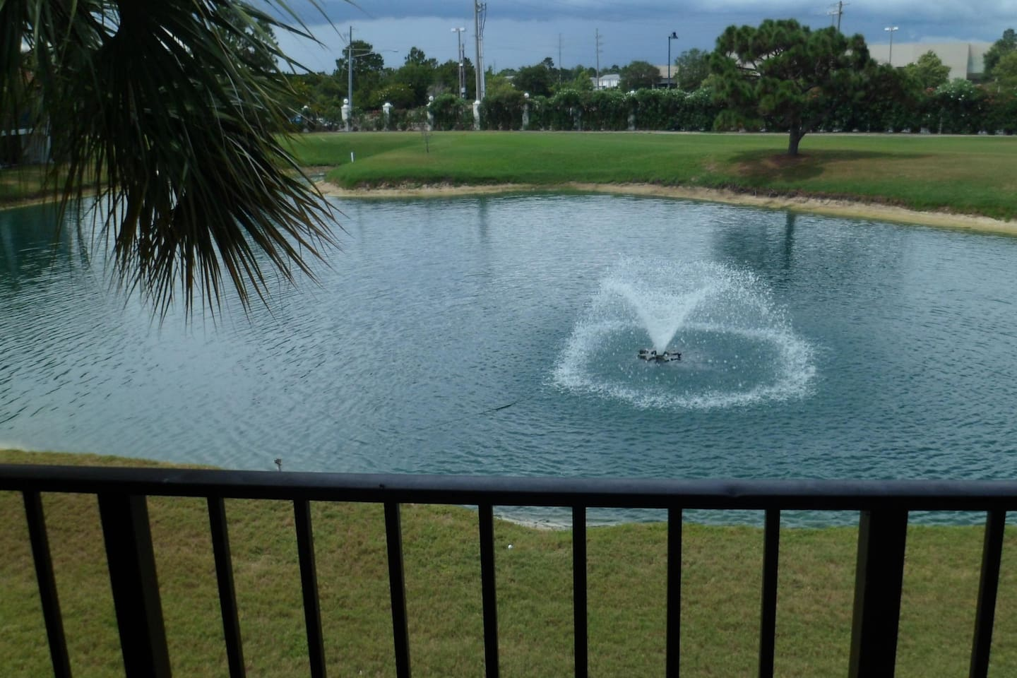 Overlooking a Pond located on the 6th Fairway of the 9-Hole Golf Course