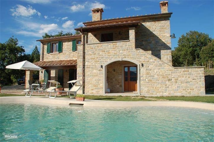 Tuscan Villa with Spectacular View - Caprese Michelangelo