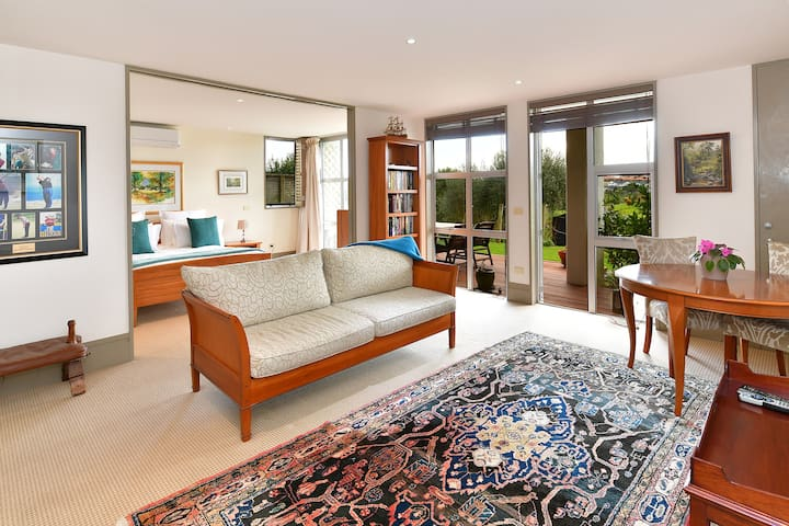 Stay near the golf course with fabulous views