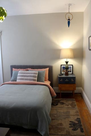 Second Bedroom, full size bed.