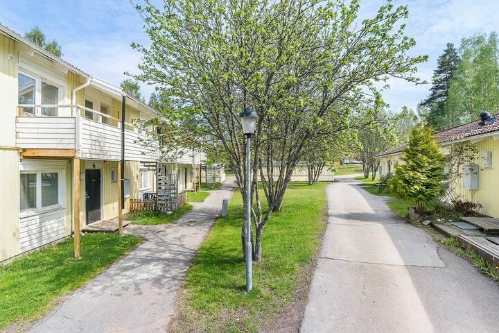 Livskvalité Lägenhet i idyllisk miljö