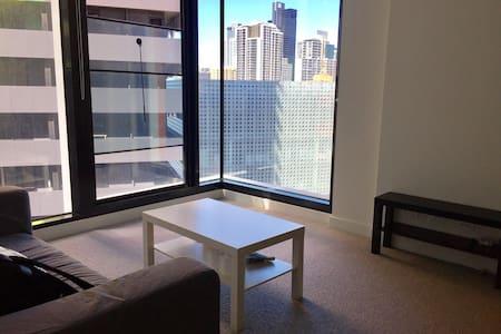 city shiny apartment市中心落地大床房含早餐 - Carlton