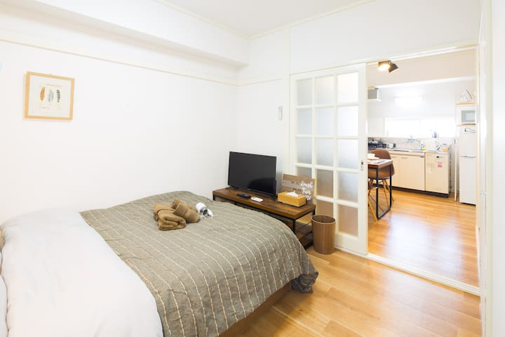 2min walk Sta.! Easy access to Shibuya!!Max7pax#43