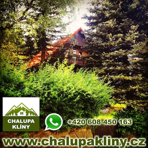 Mountain Cottage KLINY -The Perfect Oasis of Peace - Klíny - Chatka w górach