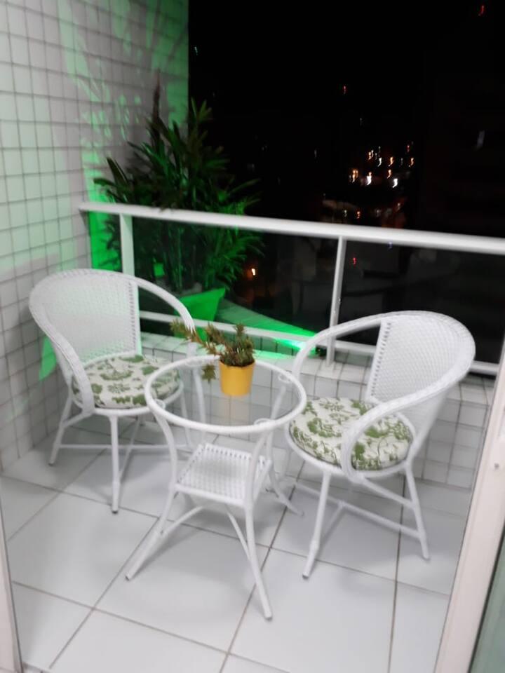 Apartamento Mobiliado, Petrópolis- Natal/RN.