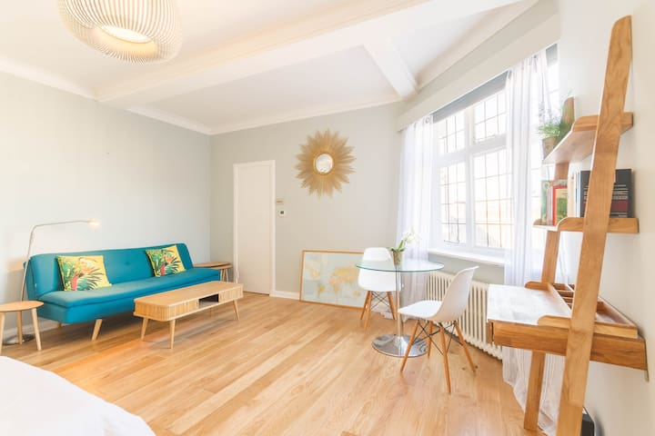 NEW Chic 1BD Studio Flat in Popular Bloomsbury