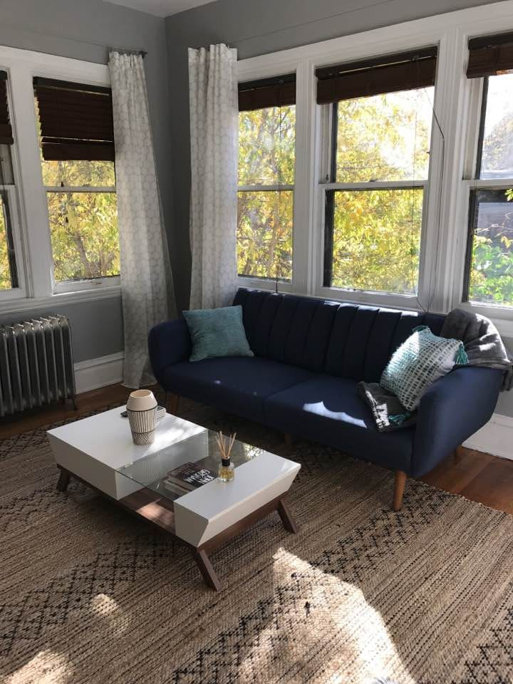 Mid-Century, modern and cozy!