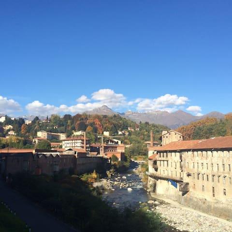 Splendido alloggio situato a Biella - Valle Cervo. - Sagliano Micca - Appartement