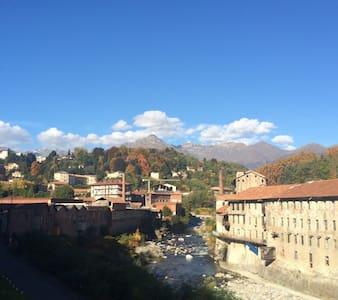 Splendido alloggio situato a Biella - Valle Cervo. - Sagliano Micca - อพาร์ทเมนท์