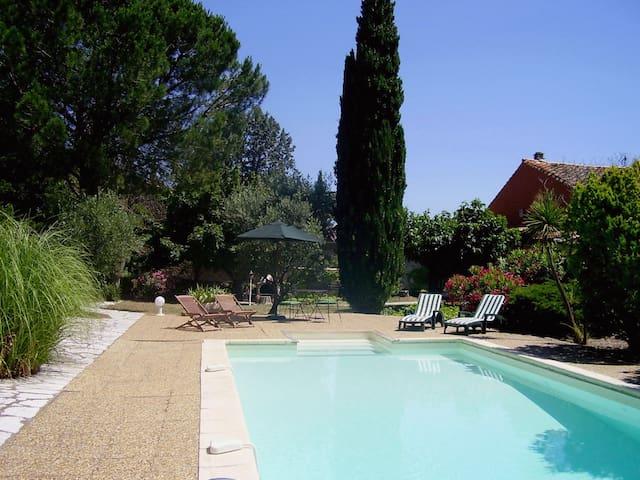 Belle maison avec piscine/jardin - Embres-et-Castelmaure - Talo