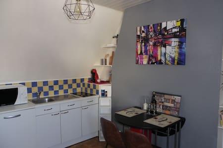 Studio chic&vintage le Castanon à 5 mn de la plage - 贝尔克 (Berck) - 公寓