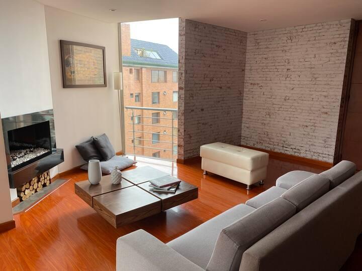 Exclusivo apartamento en la mejor zona de Bogotá