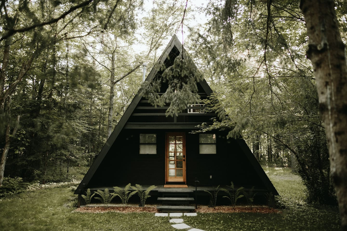 Front of a-frame
