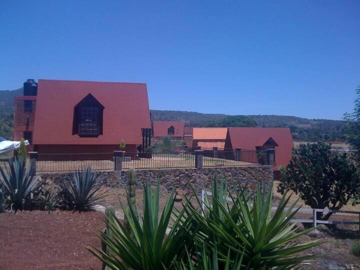 Cabaña en Montaña del Aguila, cerca de Morelia.