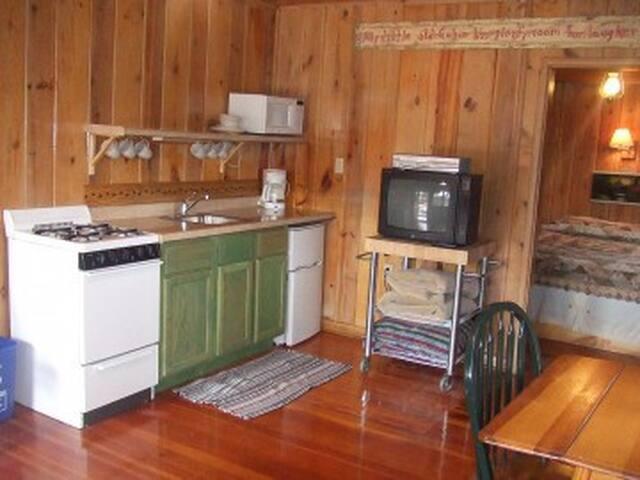 Cabin #2 kitchenette
