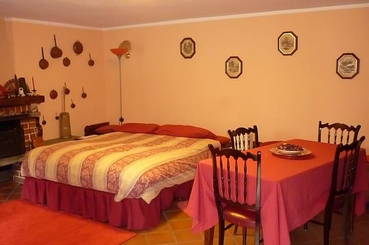 Stanza privata con letto matrimoniale - Private room with double bed