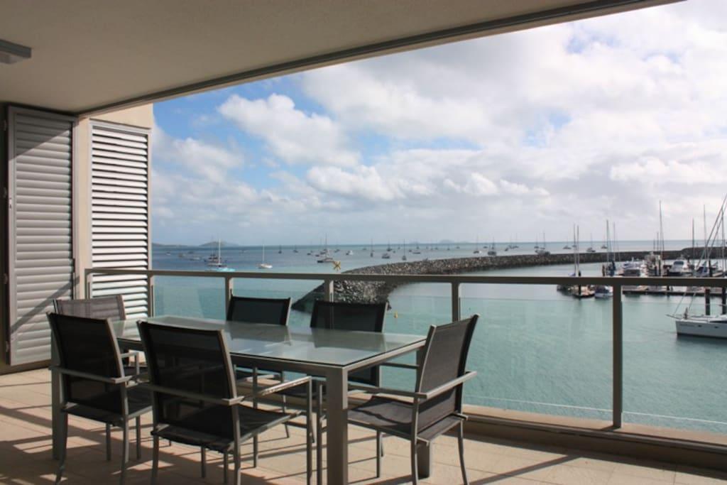 Peninsula Airlie Beach Balcony View 1