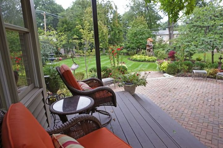 Urban Garden Retreat - St. Louis - Hus